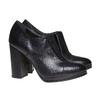 Scarpe alla caviglia con tacco stabile bata, nero, 724-6476 - 26
