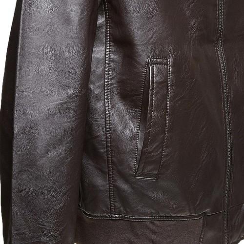 Giacca da uomo con cuciture bata, marrone, 971-4175 - 16