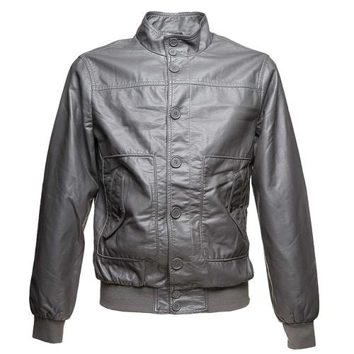 Giacca da uomo con bottoni bata, grigio, 971-2156 - 13