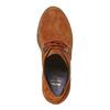 Scarpe da donna in pelle alla caviglia bata, marrone, 693-3381 - 19