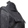 Giacca da donna con cintura bata, nero, 973-6115 - 16