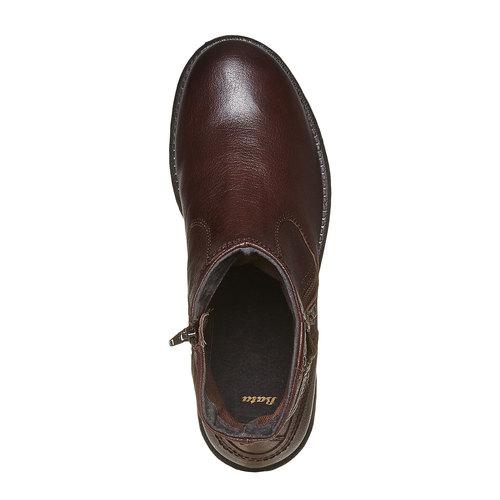 Scarpe da uomo alla caviglia bata, marrone, 894-4311 - 19