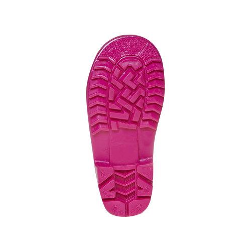 Stivali di gomma rosa da bambina, rosso, 292-5162 - 26