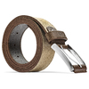 Cintura da uomo in pelle bata, giallo, 956-8100 - 26