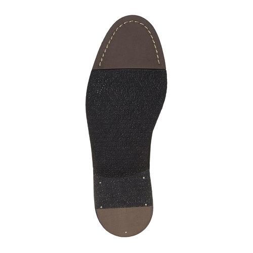 Scarpe di pelle in stile Chelsea Boots bata, nero, 894-6566 - 26