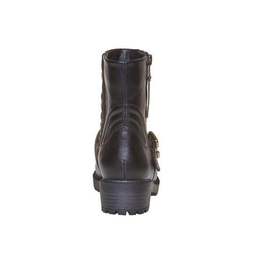 Stivali con cuciture mini-b, nero, 391-6202 - 17