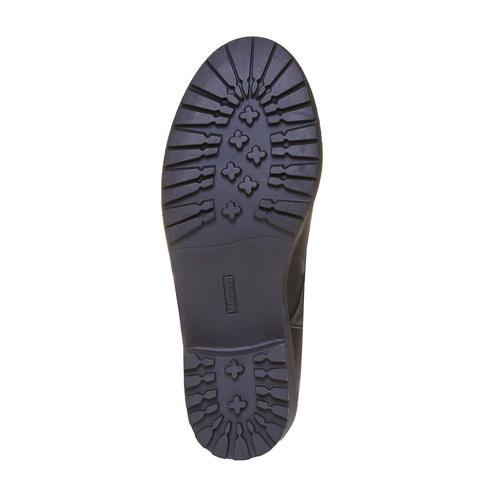 Stivali con cuciture mini-b, nero, 391-6202 - 26