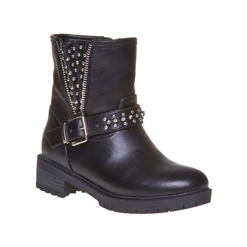 Stivali con borchie di metallo mini-b, nero, 391-6248 - 13