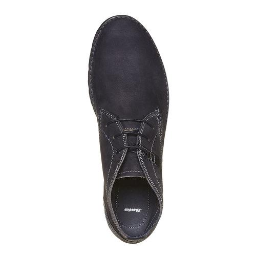 Chukka Boots da uomo in pelle bata, nero, 894-6630 - 19