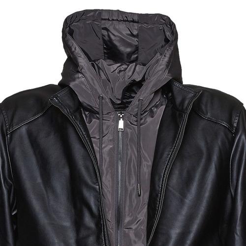 Giacca da uomo con cappuccio bata, nero, 971-6178 - 16