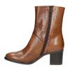 Stivaletti da donna di pelle bata, marrone, 694-3359 - 19