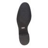 Scarpe di pelle sopra la caviglia con lacci bata, nero, 594-6100 - 26