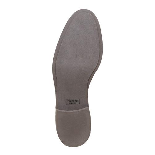 Scarpe di pelle in stile Oxford con decorazione Brogue bata-the-shoemaker, marrone, 824-3184 - 26