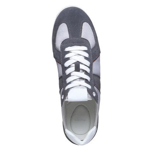 Sneakers informali da uomo bata, grigio, 849-2653 - 19