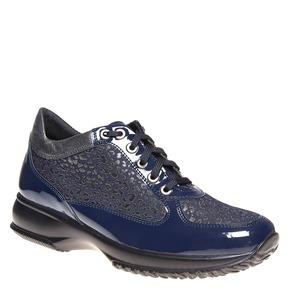 Sneakers eleganti da donna bata, blu, 524-9212 - 13