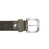 Cintura casual in tessuto bata, marrone, 959-4261 - 26