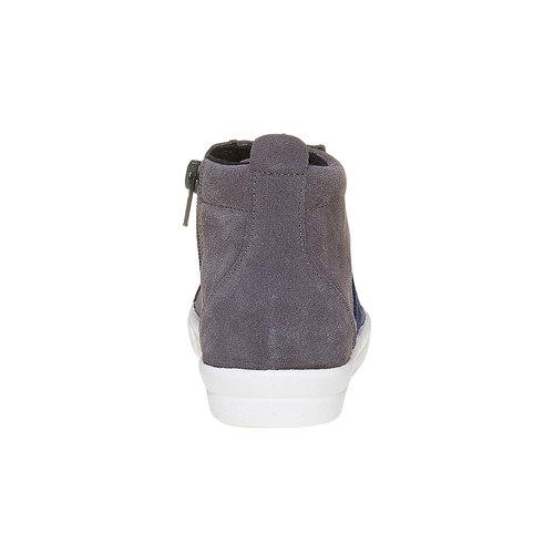Sneakers da bambino alla caviglia north-star, grigio, 313-2239 - 17