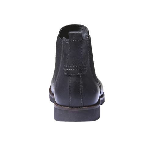 Scarpe in pelle stile Chelsea bata, nero, 894-6197 - 17