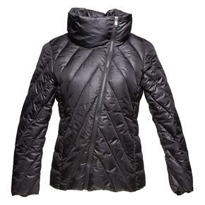 Giacca da donna con chiusura asimmetrica bata, nero, 979-6638 - 13