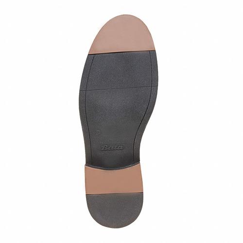 Scarpe da donna in pelle in stile Monk bata, marrone, 514-3250 - 26