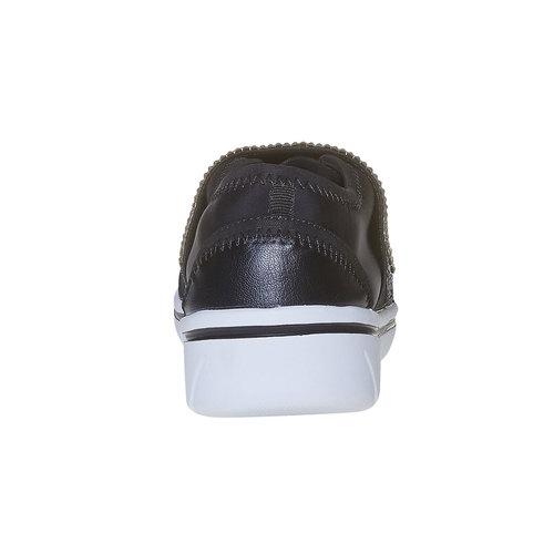 Sneakers da donna north-star, nero, 549-6260 - 17