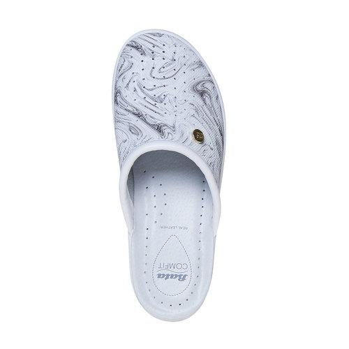 Pantofole da donna, grigio, 574-2346 - 19