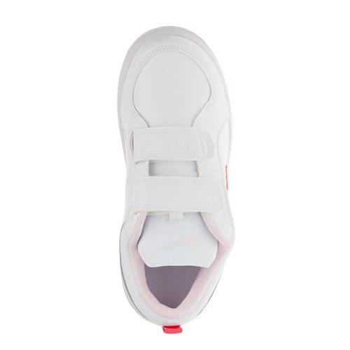 Sneakers da bambino con chiusura a velcro nike, rosso, 304-5548 - 19