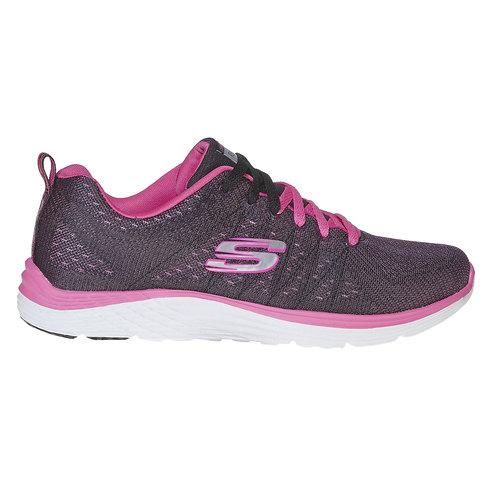 Sneakers sportive da donna skechers, rosso, 509-5353 - 15