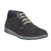 Sneakers in pelle alla caviglia bata, grigio, 843-2688 - 13