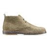 Scarpe di pelle in stile Desert Boots bata, grigio, 823-2535 - 26