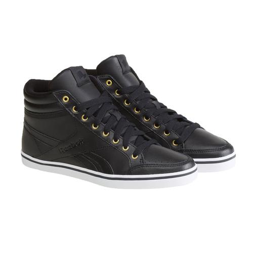 Sneakers da donna alla caviglia reebok, nero, 504-6111 - 26