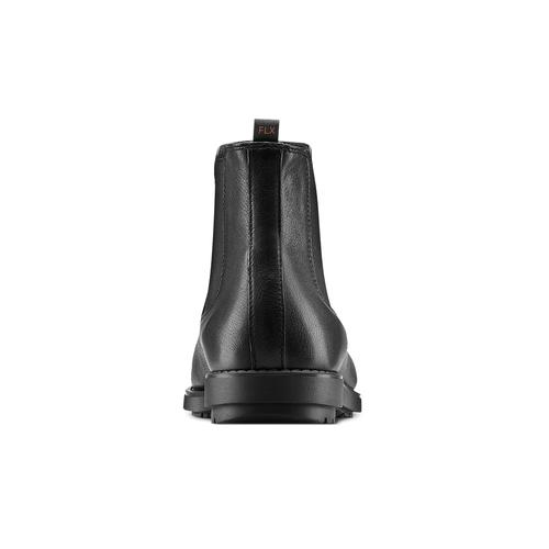 Scarpe da uomo in stile Chelsea Boots flexible, nero, 894-6233 - 16
