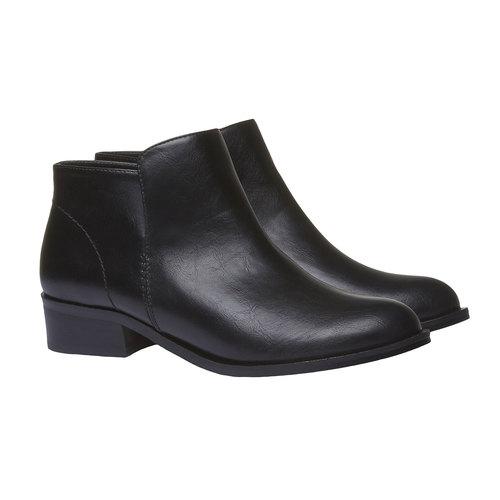 Stivaletti alla caviglia bata, nero, 591-6134 - 26