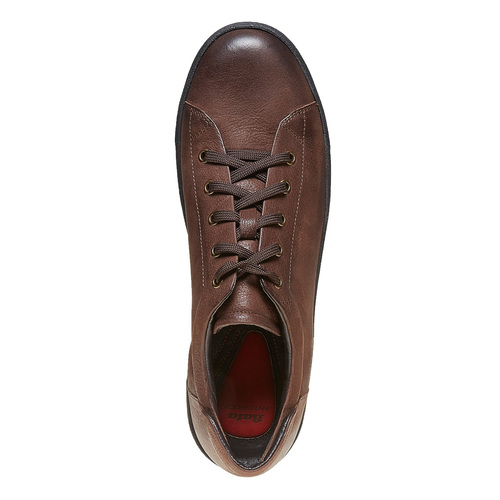 Sneakers in pelle da uomo bata, marrone, 844-4199 - 19