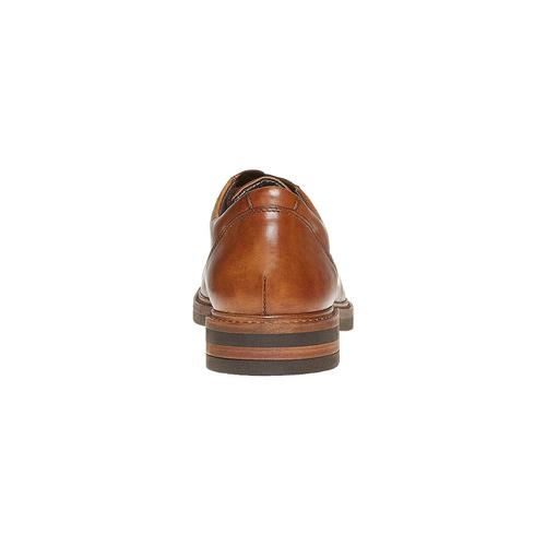 Scarpe basse da uomo in pelle bata, marrone, 824-3219 - 17