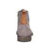 Scarpe da uomo in pelle bata, grigio, 893-2357 - 17