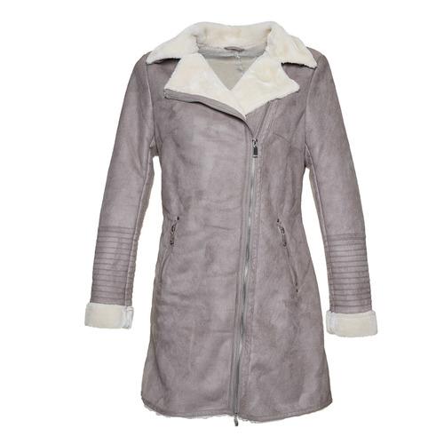Cappotto invernale da donna bata, grigio, 979-2442 - 16
