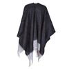 Poncho da donna bata, nero, 909-6346 - 26