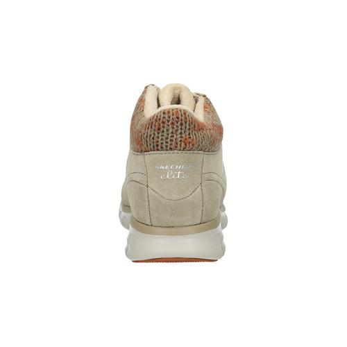 Scarpe sportive invernali da donna skechers, beige, 503-3357 - 17