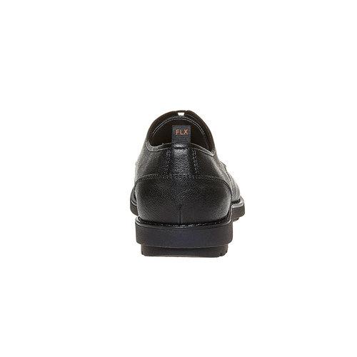Scarpe basse informali da uomo flexible, nero, 824-6525 - 17