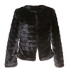 Pelliccia elegante da donna bata, nero, 979-6644 - 13
