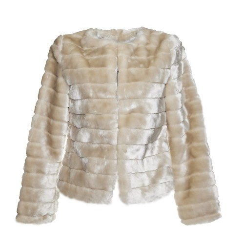 Pelliccia elegante da donna bata, bianco, 979-1644 - 13