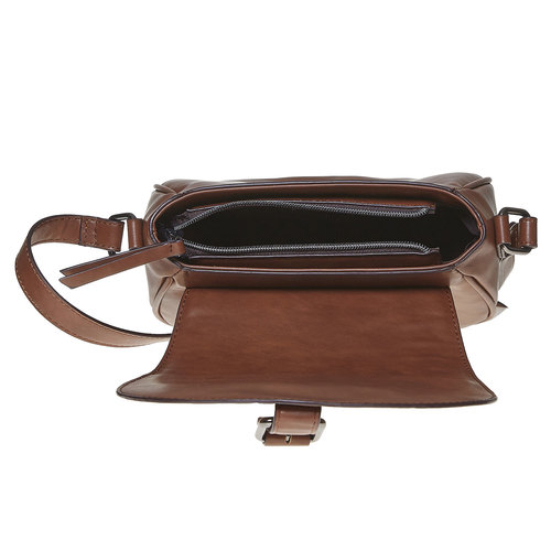 Borsetta Crossbody con perforazioni bata, marrone, 961-3767 - 15