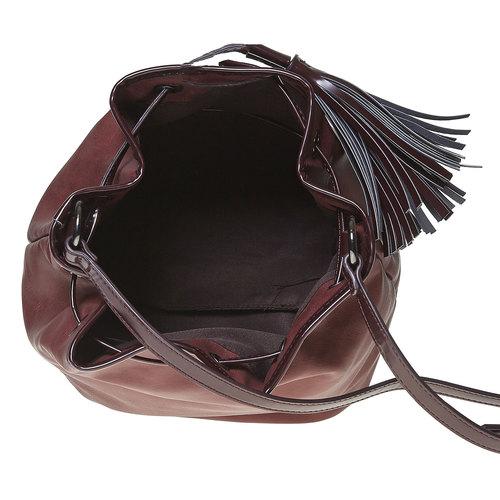 Borsetta in stile Bucket Bag bata, rosso, 961-5884 - 15