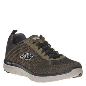 Sneakers da uomo skechers, verde, 809-7350 - 13