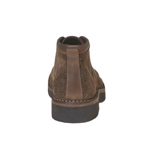 Scarpe da uomo alla caviglia bata, marrone, 894-4519 - 17
