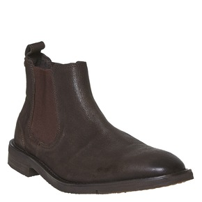 Scarpe Chelsea da uomo in pelle bata, marrone, 894-4566 - 13