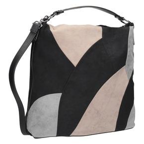 Borsetta in stile Hobo Bag bata, nero, 969-6231 - 13