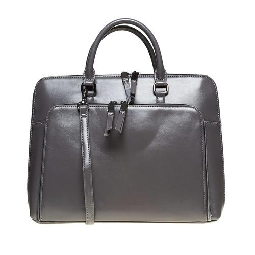 Borsetta elegante verniciata bata, grigio, 961-2882 - 26