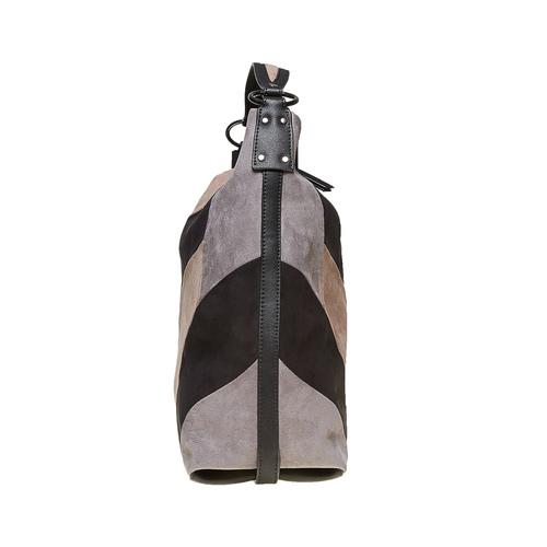 Borsetta in stile Hobo Bag bata, nero, 969-6231 - 17